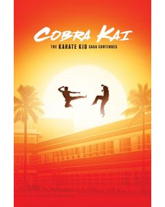 Cobra Kai The Saga Continues Poster 61x91.5cm
