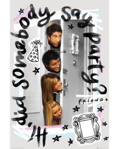 Friends Party 61x91.5cm