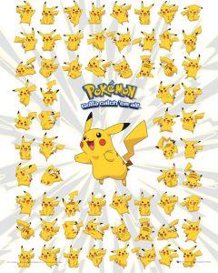 Pokemon Pikachu Poster 40x50cm