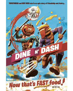Fortnite Dine N' Dash Poster 61x91.5cm