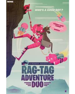 Fortnite Rag-Tag Adventure Duo Poster 61x91.5cm