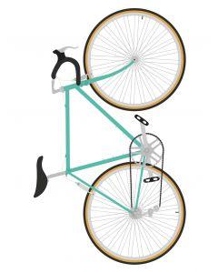 Monument Studio Bike Green Art Print 30x40cm