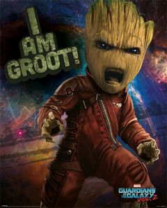 Guardians Of The Galaxy Vol. 2 Angry Groot Poster 40x50cm