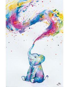 Marc Allante Poster Baby Elephant 61x91.5cm