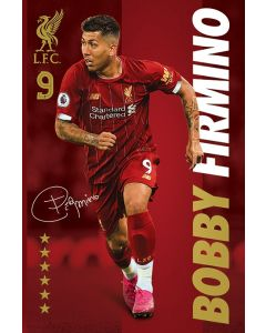 Liverpool FC Bobby Firmino Poster 61x91.5cm