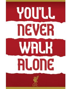 Liverpool FC You'll Never Walk Alone Poster 61x91.5cm
