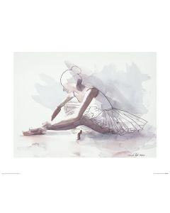 Ballet The beginning Art Print Aimee Del Valle 40x50cm