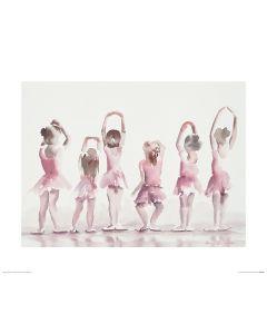 Ballet Fifth position Art Print Aimee Del Valle 40x50cm