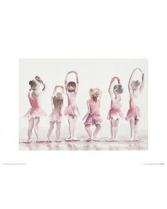 Ballet Fifth position Art Print Aimee Del Valle 30x40cm