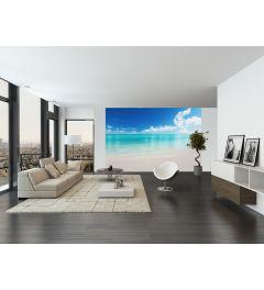 The White Beach 8-part Non-Woven Wall Mural 366x254cm