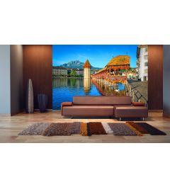 Lucerne Switzerland 8-part Photo Wallpaper 366 x 254 cm