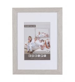 Frame 61x91,5cm Haze Grey - Wood