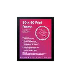 Frame 30x40cm Black - MDF