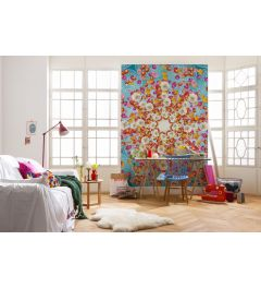 Happiness 4-part Wall Mural 184x254cm