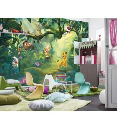 Lion King Jungle 8-part Wall Mural 368x254cm