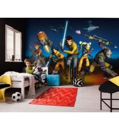 Star Wars Rebels Run 8-part Wall Mural 368x254cm