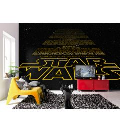 Star Wars Intro 8-part Wall Mural 368x254cm