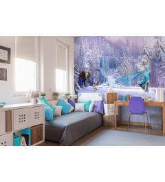 Frozen Forest 8-part Wall Mural 368x254cm