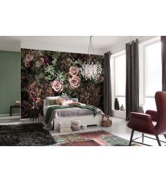 Roses Velvet 8-part Wall Mural 368x254cm
