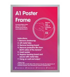 Frame A1 Silver - MDF