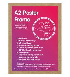 Frame A2 Oak - MDF