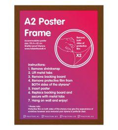 Frame A2 Dark Castle Oak 59,4x42cm MDF
