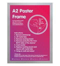 Frame A2 Silver - MDF