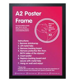 Frame A2 Black - MDF