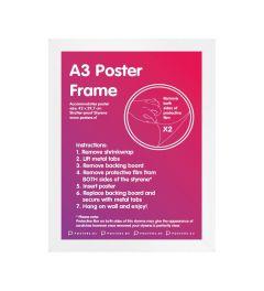 Frame A3 White - MDF