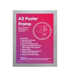 Frame A3 Silver - MDF