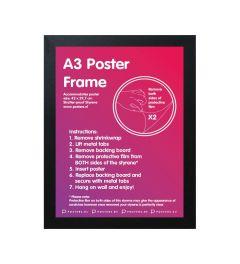 Frame A3 Black - MDF