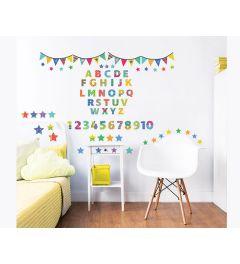 ABC Alphabet Wall Sticker set