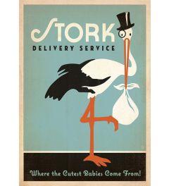 Stork - Blue - Boy