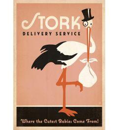 Stork - Pink - Girl