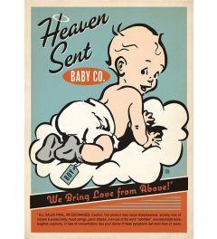 Heaven Sent Boy Blue Kunstdruk 42x59.4cm