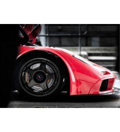 Rode Raceauto - Voorkant