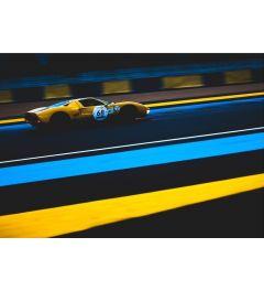 Raceauto - Geel - Nummer 68