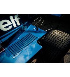 Blauwe auto - Elf