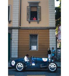 Blauwe Raceauto - Nummer 11