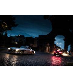 Mercedes SL - Oldtimer - Stad