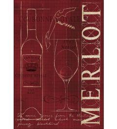 Merlot Red