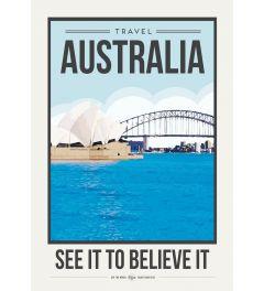 Travel Poster Australia