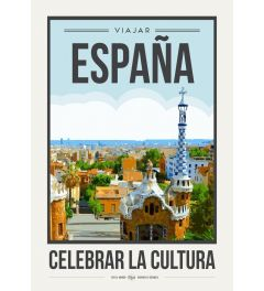 Travel Poster Spain