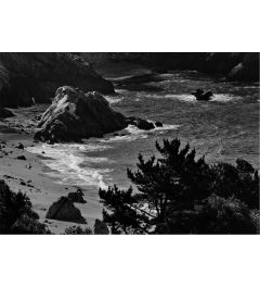 Pacific Ocean Seascape #52 b+w