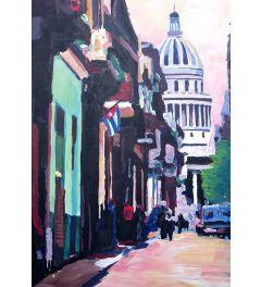 Havana Cuba Street Scene - M Bleichner