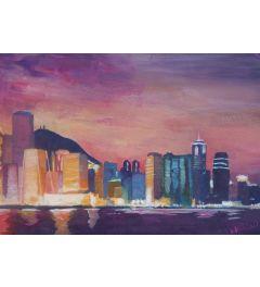 Hongkong Night - M Bleichner