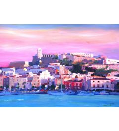 Ibiza Old Town And Harbour Pearl - M Bleichner