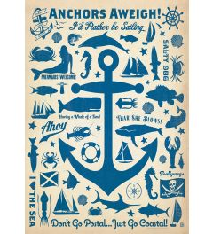 Anchors Aweigh! - Pattern Print