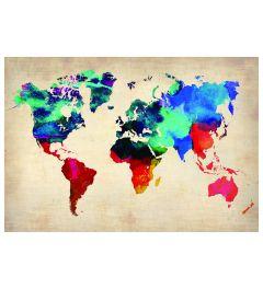 Worldmap - Multi Color