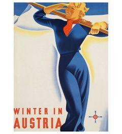 Austria - Ski Girl